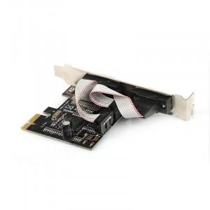 Dark RS232 2 Port Seri Bağlantı PCI Express x1 Kart