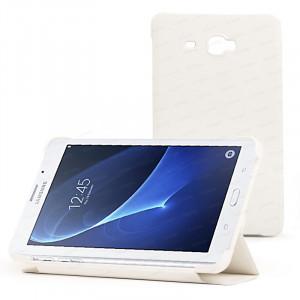 """Dark Samsung Tab A 7"""" Beyaz Kılıf"""