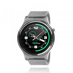 Dark SW08 Smart Design Android ve IOS Uyumlu Akıllı Saat (Gri Metal Kayış)