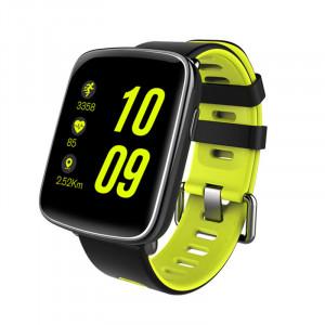 Dark SW09 SportWear Android ve IOS Uyumlu Akıllı Saat (Yeşil Kayış)