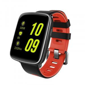 Dark SW09 SportWear Android ve IOS Uyumlu Akıllı Saat (Kırmızı Kayış)