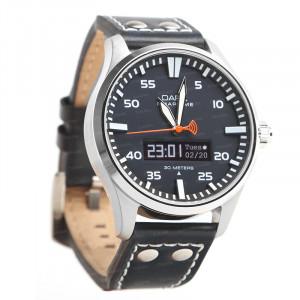 Dark SMARTIME Siyah Kadran / Lacivert Spor Kayışlı Akıllı Saat
