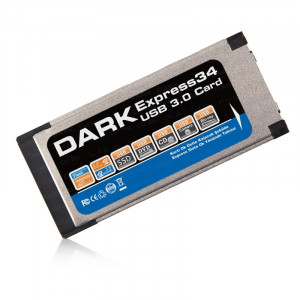 Dark USB 3.0 Notebook Express 1 Port Kart (34 Pin/54pin Express Yuva Uyumlu)