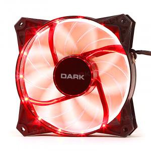 Dark 120mm Ultra Bright 15x Kırmızı LED' li Kasa Fanı