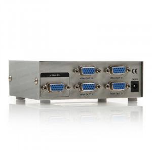 Dark Full HD 1 Giriş 4 Çıkışlı VGA Splitter (Sinyal Çoğaltıcı)