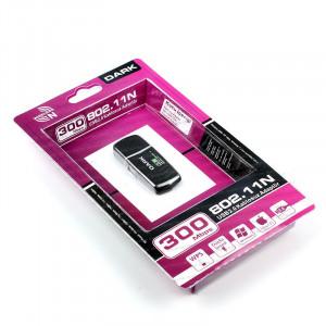 Dark WDN300 300Mbit Dahili Antenli Yüksek Güçlü Kablosuz USB Adaptör