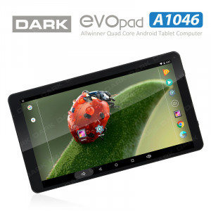 "Dark EvoPad A1046 Quad Core 10.1"" IPS 1GB/16GB Tablet Bilgisayar"