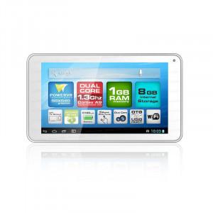 "Dark EvoPad C7024 7"" Çift Çekirdekli Mini HDMI, 8GB, Android 4.2 Beyaz Tablet Bilgisayar"