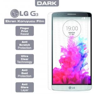 Dark LG G3 Yansıma Engelleyici Ekran Filmi