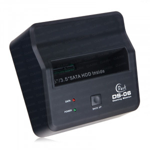 Dark DS06 Tek Tuş Yedekleme USB 2.0 ve eSATA Docking Station