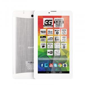 "Dark EvoPad M7440 7"" Quadcore IPS 1GB/8GB 3G'li Beyaz Tablet"
