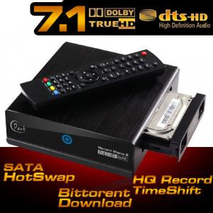 Dark Record Mania 2 WiFi Kayıt, 1080p MKV/H.264, 7.1 DTS/Dolby, Youtube, Torrent, InternetTV Medya Oynatıcı